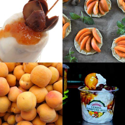 Verrines de trifle d abricots et pruneaux